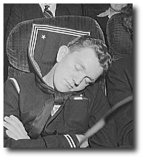 Zeke closed his eyes. Artwork : This photo, originally taken by Esther Bubley in September 1943, was produced for the U.S. Office of War Information and is therefore in the public domain. It was retrieved from the .
