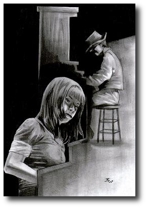 The hands deserve better. But they know what they need, and they take to the keys as if they'd never left them. Artwork©2008, R.W.Ware