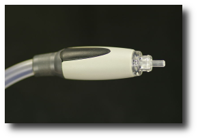 Artwork: This image of a TOS LINK clear cable is licensed under the  License, and comes to us via .