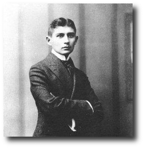 Franz Kafka in 1906. Artwork: This picture is in the .