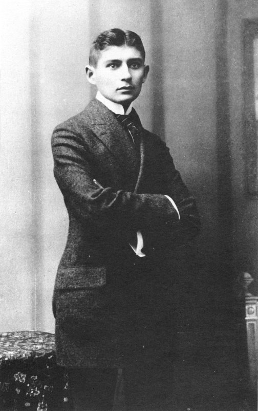 Franz Kafka In 1906 Artwork This Picture Is The