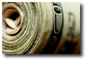 And in seeking his lone five-dollar bill, that he might return the stranger's hospitality, he did display the four-hundred-dollar roll. Artwork : This photo comes from  and is used under a Creative Commons Attribution license.