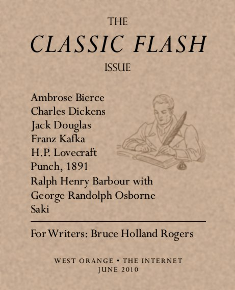 Flash Fiction Online, June 2010: The Classic Flash Issue