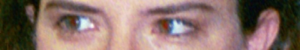 The eyes of Gina Sakalarios-Rogers