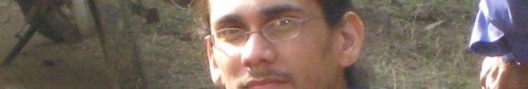 The eyes of Indrapramit Das