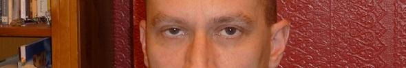 The eyes of Peter McLean