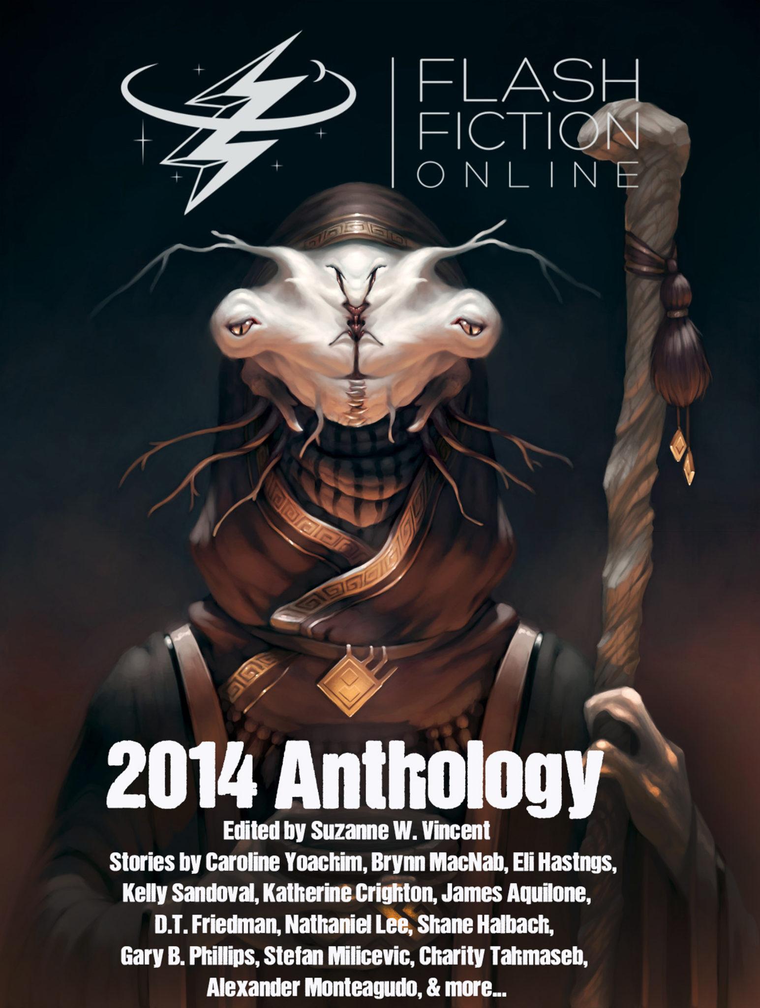 Flash Fiction Online 2014 Anthology Cover